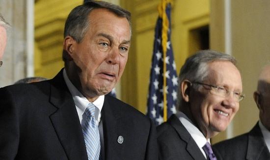 John Boehner Harry Reid