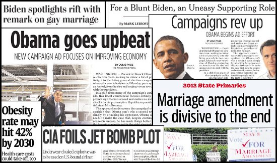 Daily Kos: Abbreviated Pundit Roundup: Negative narrative evolving ...