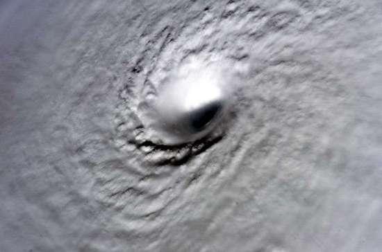 Hurricane Wilma eye