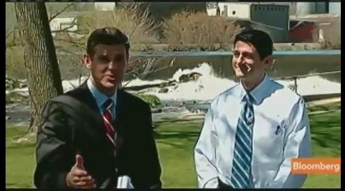 Paul Ryan, Bloomberg TV