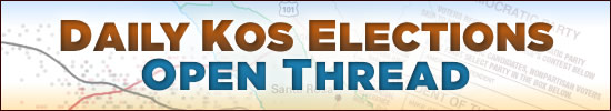 Daily Kos Elections Open Tread Banner