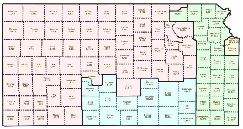 Daily Kos Elections Morning Digest Kansas Legislature Introduces - Map of us senate districts in kansas