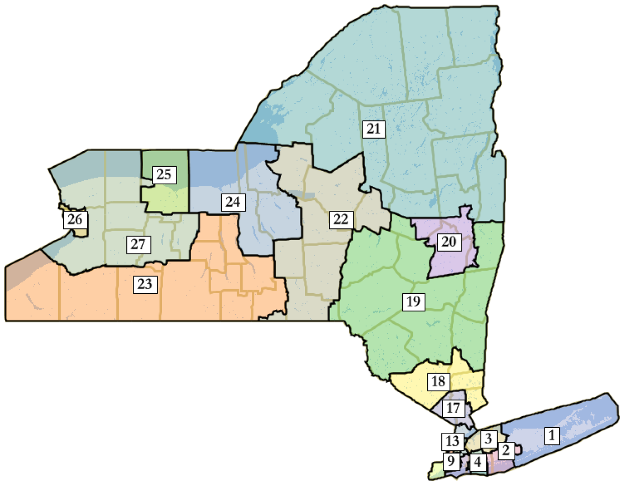 Appellate Th Is The November Redistricting Amendment A Reform Or - Nyc map of boroughs