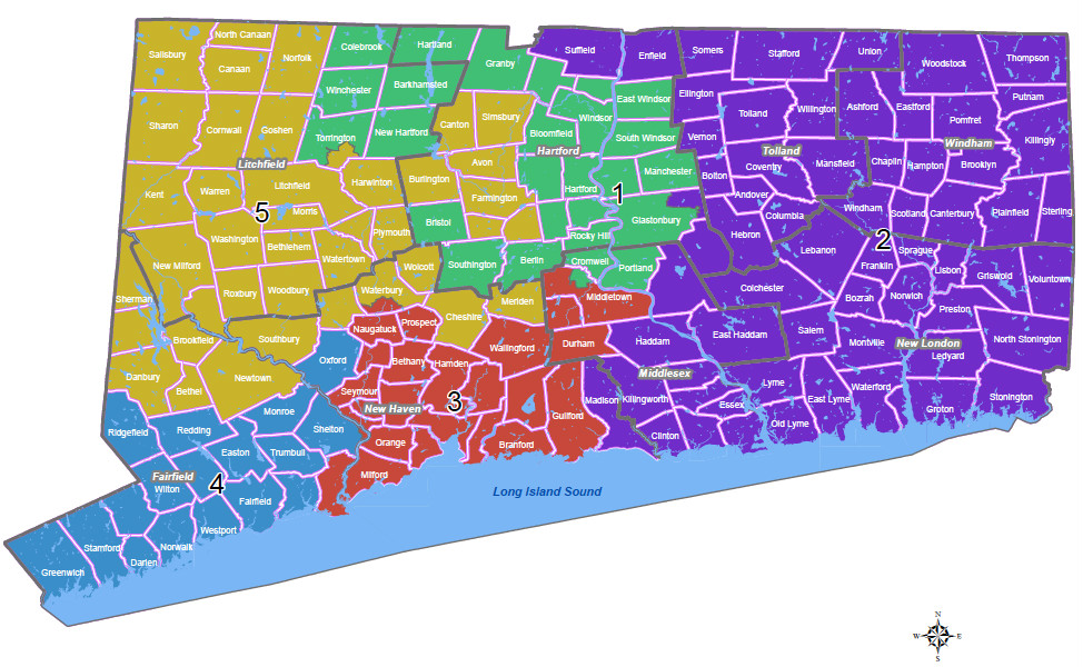 us house redistricting connecticut