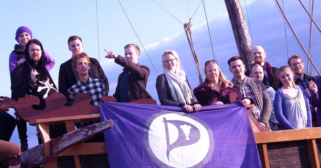 Image result for iceland pirate party