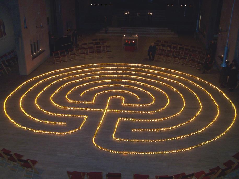 IAN: Sat., January 2, 2016 - Walking the Labyrinth