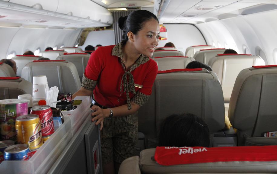 Flight attendent sex