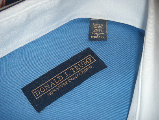 Donald Trump S Clothing Line Made In China