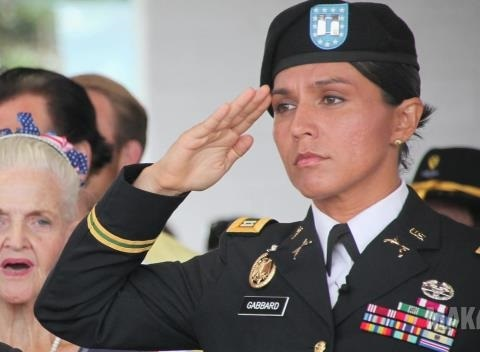 why did tulsi gabbard travel to syria after meeting trump