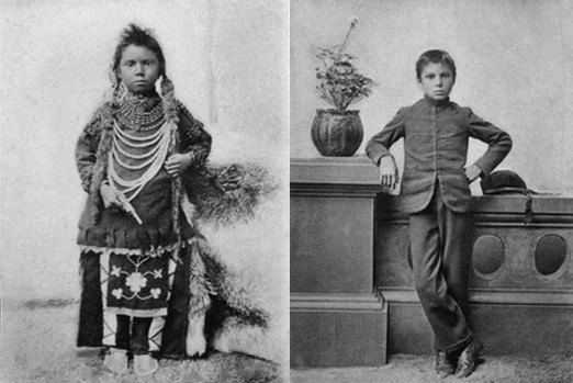 assimilation of native americans into society What is an example of cultural assimilation a:  forced assimilation of native americans,  and cultural practices to integrate into society and improve their.
