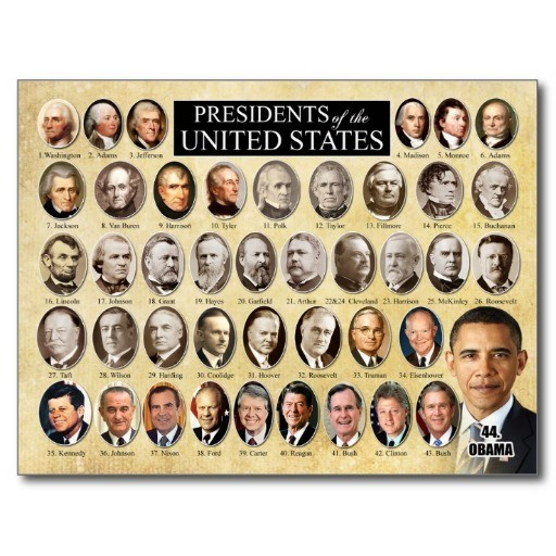 Great presidential quotes 1858 to 2017 for Pictures of all presidents of the united states in order