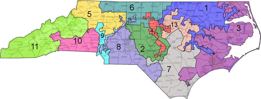 North Carolinas Congressional Map Gets Struck Down In Court But - Map in north carolina