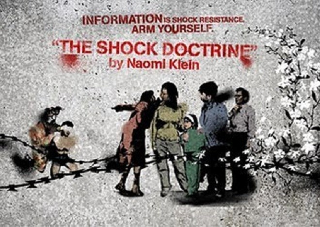 Image result for shock doctrine naomi klein movie