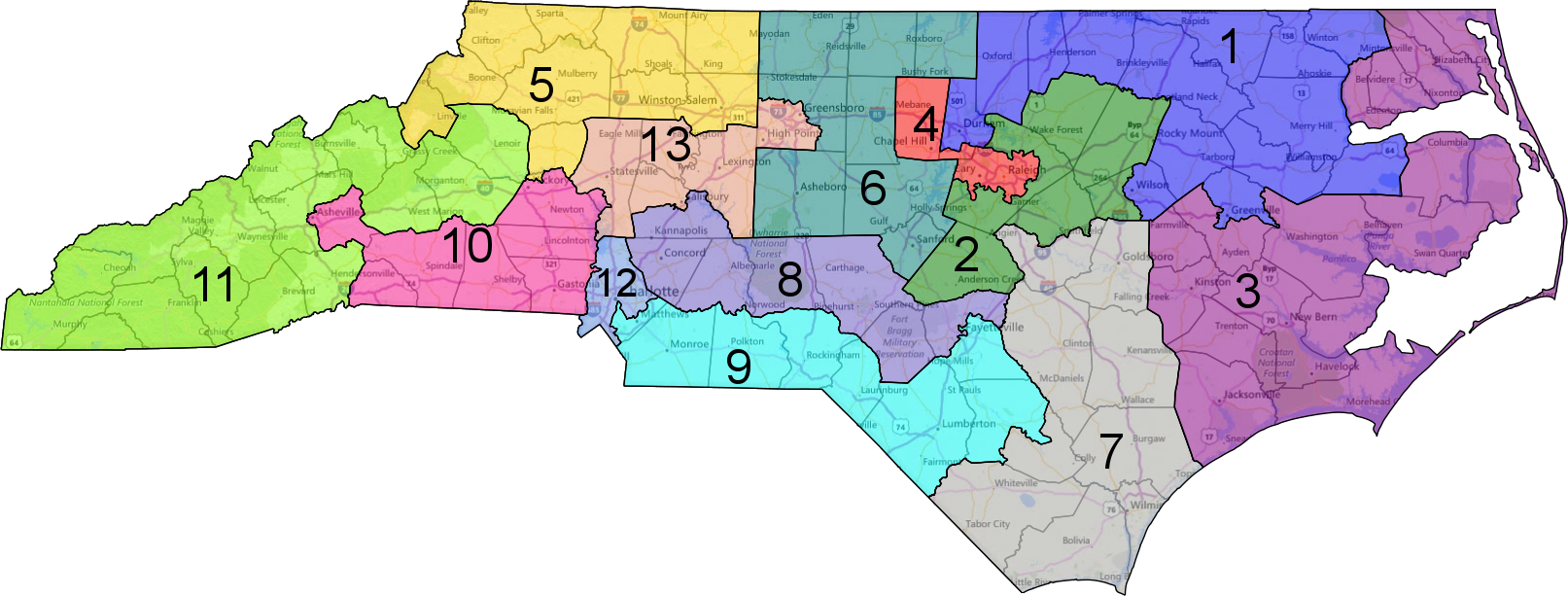 no, maryland is not the most gerrymandered state. there is more to