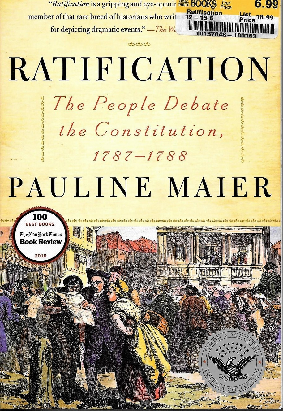 the essay urging ratification during the new york ratification debate