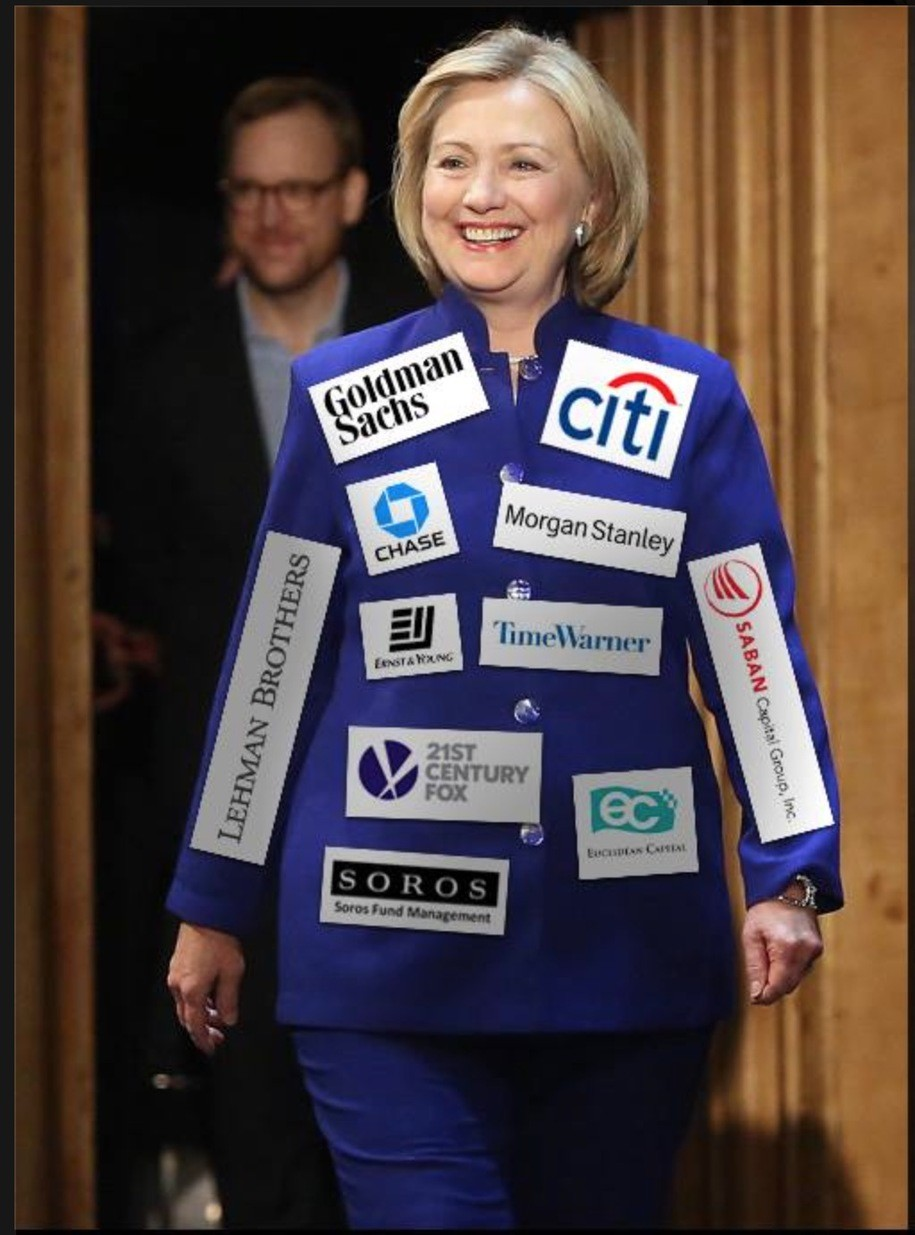a critical thinking response to hillary is a corporate shill memes