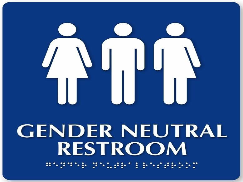 Gender Free Bathroom Signs Thedancingpa Com