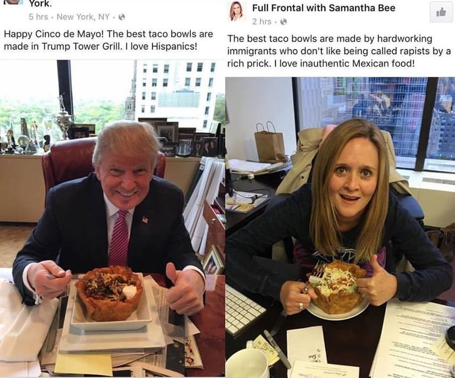 Image result for samantha bee on trump