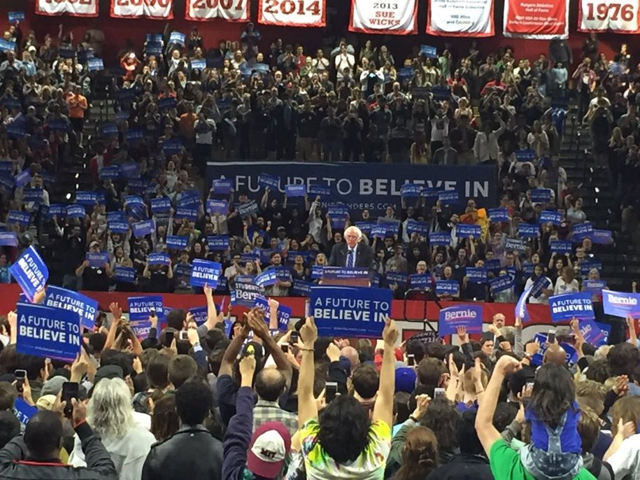 BNR - 'Sanders Rallies 7,000+ At Rutgers' & 'How Bernie Changed The Cannabis Conversation'