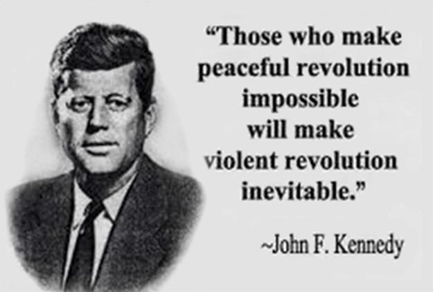 Those who make peaceful revolution