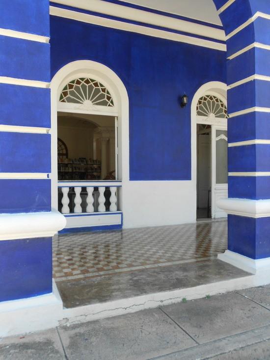 Public library, Gibara, Cuba
