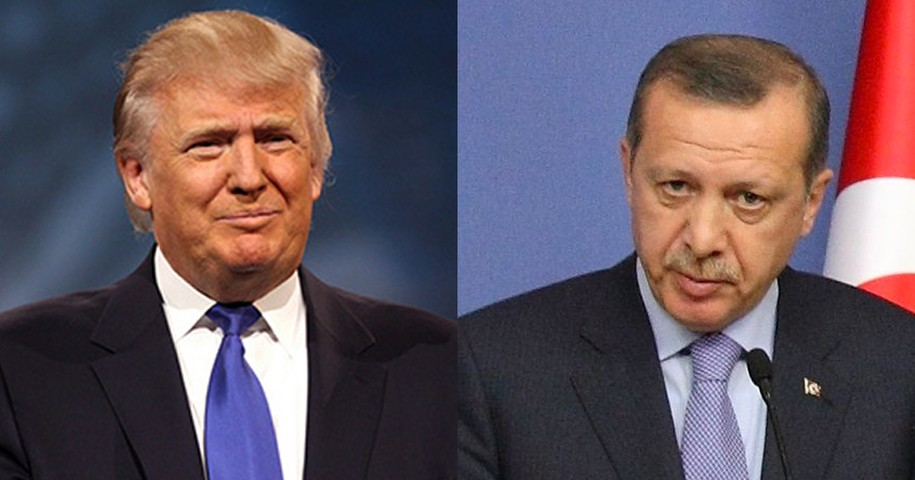Image result for Turkey President and Donald Trump