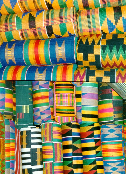 80 >> Power, pride, and kente cloth