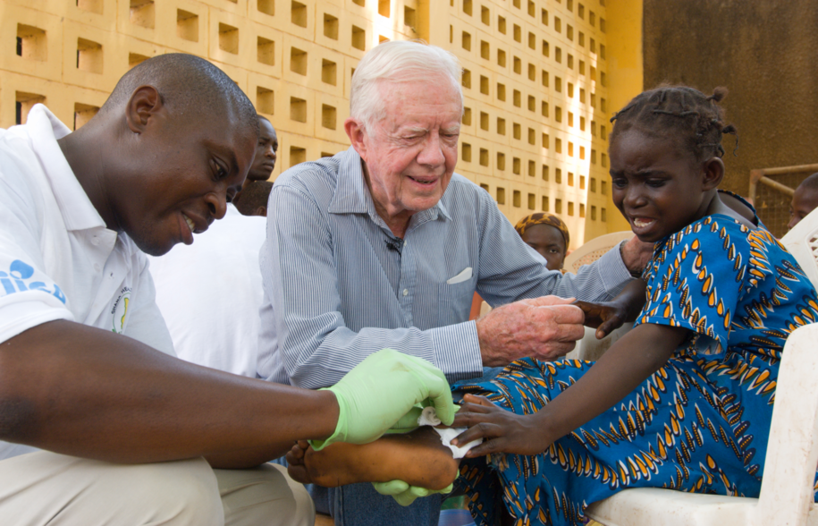 Jimmy Carter & The Carter Center 2 cases away from ending Guinea Worm Disease (from 3 million) Screen_Shot_2016-06-08_at_11.13.55_PM