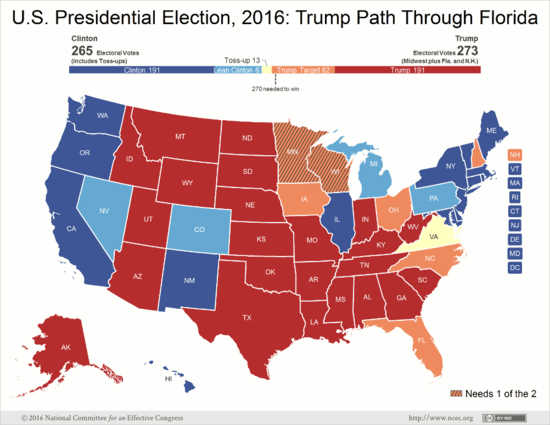 Why The Numbers Show Donald Trumps Path To Victory Is