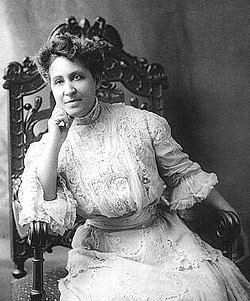 Suffragist and civil rights activist Mary Church Terrell