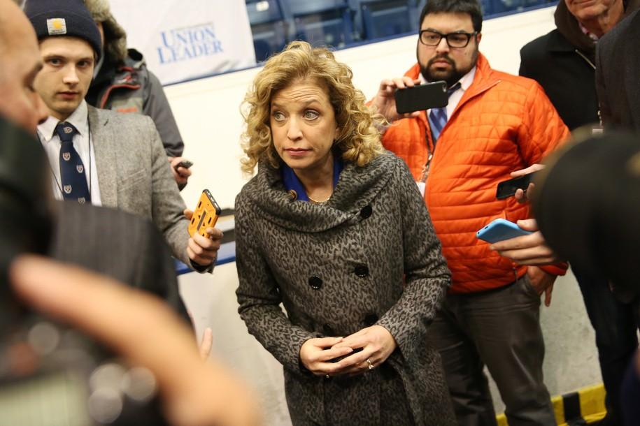Clinton takes control of DNC—buh bye Debbie Wasserman Schultz