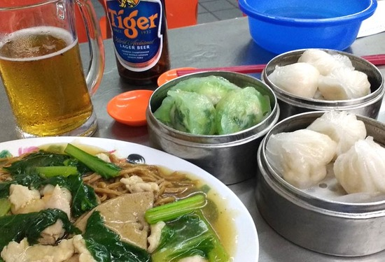 as were dozens of Indian, Malay, and Chinese restaurants. Dim sum is ...