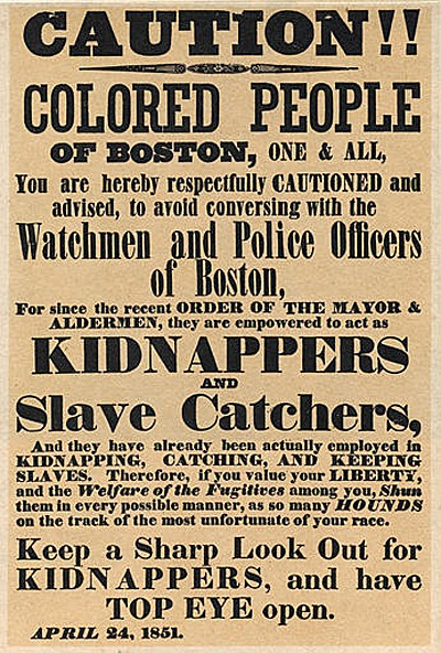 the fugitive slave law of 1850 Includes pictures includes stories about the fugitive slave law and accounts about it includes online resources and a bibliography for further reading despite the.