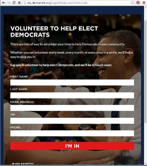 Page at www.democrats.org to Volunteer to help local races in your area.