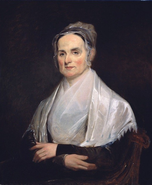 Lucretia Mott in 1841, painted by Joseph Kyle