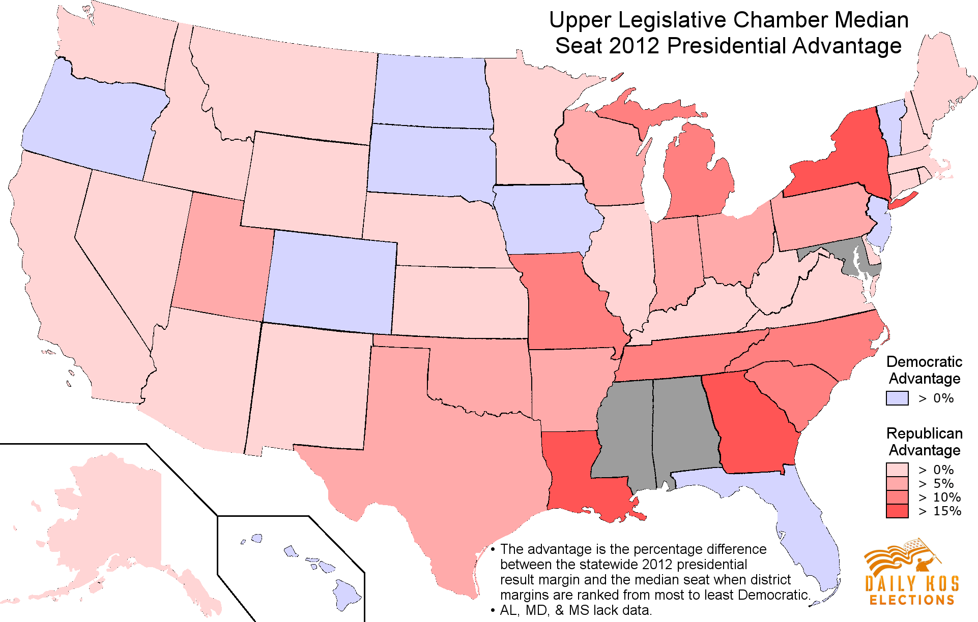 Democrats Are Already Gearing Up For Our Next Redistricting Battle - Map us governors