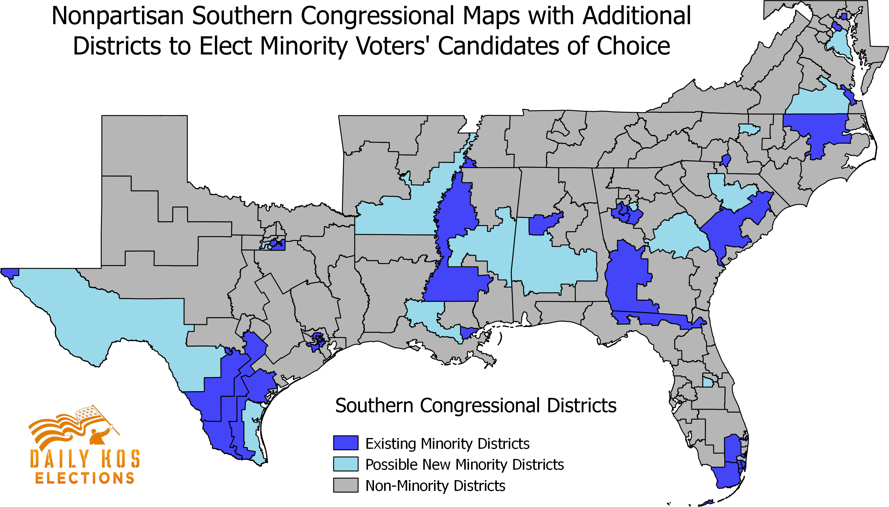 Nearly Every Southern State Could Have Drawn Another Congressional - Florida map districts