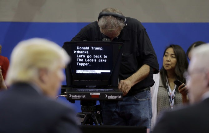 Notes from a TrumPrompter 08/19/2016: No Regrets