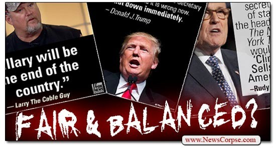 Fair And Balanced My Ass! Fox News Goes Full Propaganda ...