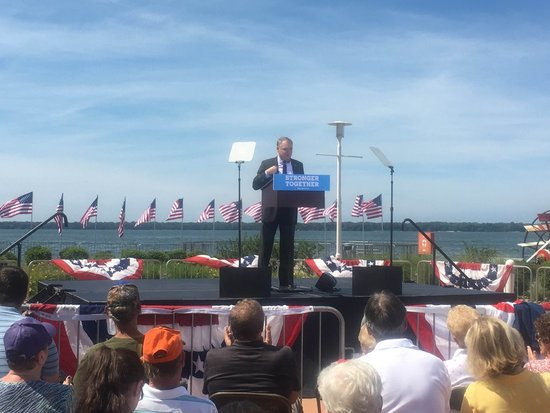 Tim Kaine speaking in Erie, PA, August 30, 2016