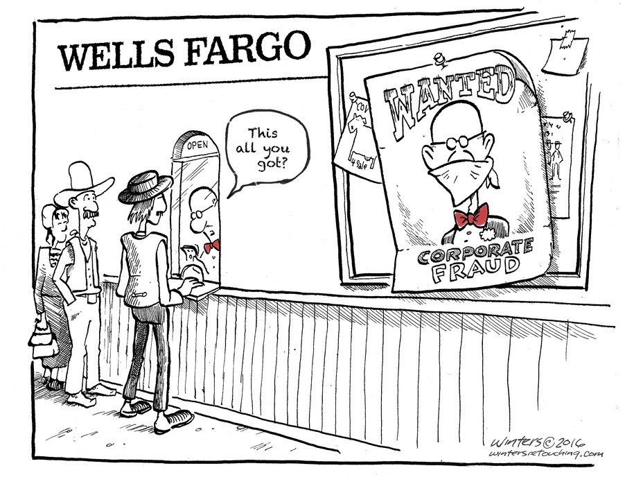 information on wells fargo fraud was public knowledge for