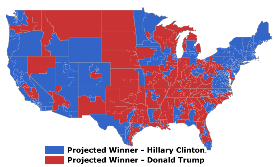 projected 2012 electoral college map The 2016 results we can already predict in the current electoral college it's effectively the same map we featured for much of the 2012 cycle.