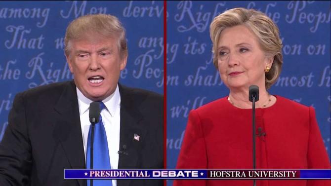 story donald trump hillary clinton debate schedule