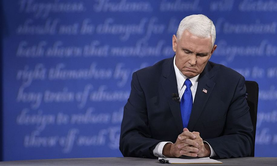 Mike Pence's shameless attempt to rewrite history on his support for conversion therapy
