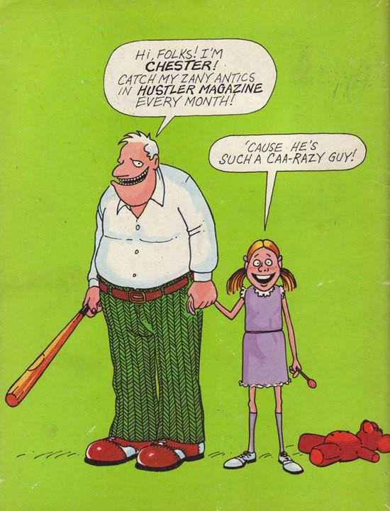 chester the molester cartoon