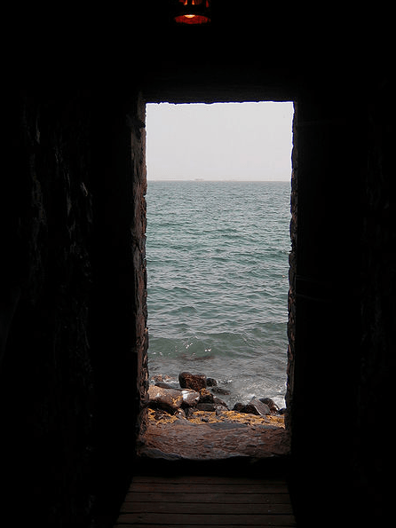 """The Door of No Return"" in which millions of Africans passed through as they were loaded on board a ship heading westward, never to see their home continent again. Goree Island, Senegal."