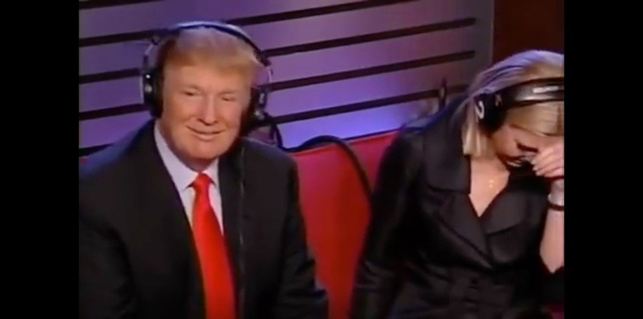 Howard Stern co-host suggested Trump was a sexual predator, Trump laughed and said 'it's true'