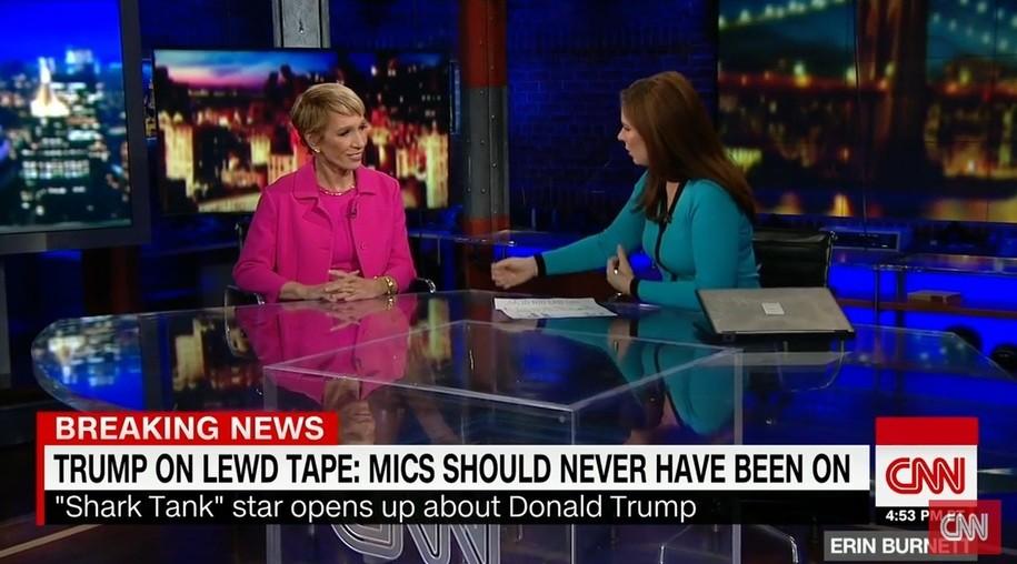 Barbara Corcoran on CNN with Erin Burnett