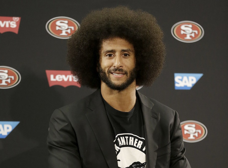 donald trump talks signing colin kaepernick