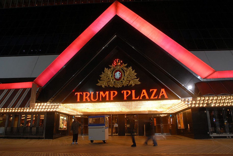 ATLANTIC CITY - MARCH 14: The Trump Plaza is one of the Trump properties that may potentially be sold March 14, 2007 in Atlantic City, New Jersey.  Trump Entertainment Resorts Inc. have hired an investment firm to explore the possible sale of the Trump Hotel and Casinos in Atlantic City. (Photo by William Thomas Cain/Getty Images)